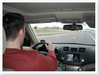 Beau Behind The Wheel